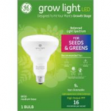 Ge Lighting - Ge Grow Light Led Bulb For Seed & Greens - 9 Watt