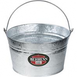 Behrens Manufacturing - Galvanized Hot Dipped Pails - Silver - 4.25 Gallon
