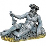 Blue Ribbon Pet Products - Exotic Environments Neptune Statue - Small
