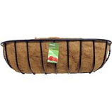 Panacea Products - Blacksmith Wall Trough With Coco Liner - 30 Inch